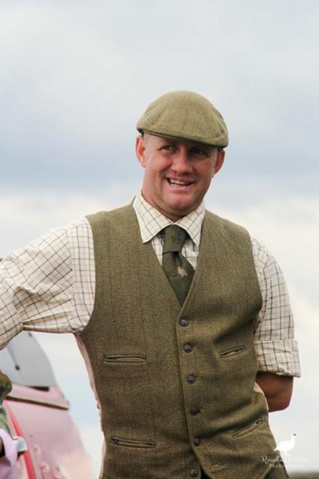 GLOOMY OUTLOOK: Rob Mitchell, chairman of Durham and Northumber-land branch of the National Gamekeepers Organisation