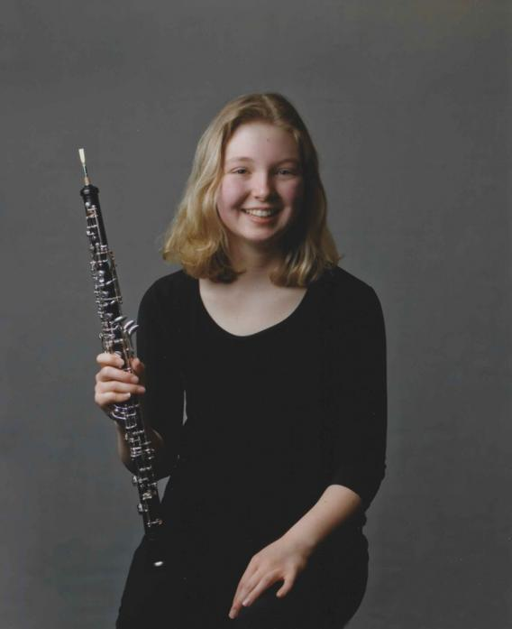FESTIVAL TREAT: Soloist Evie Brenkley