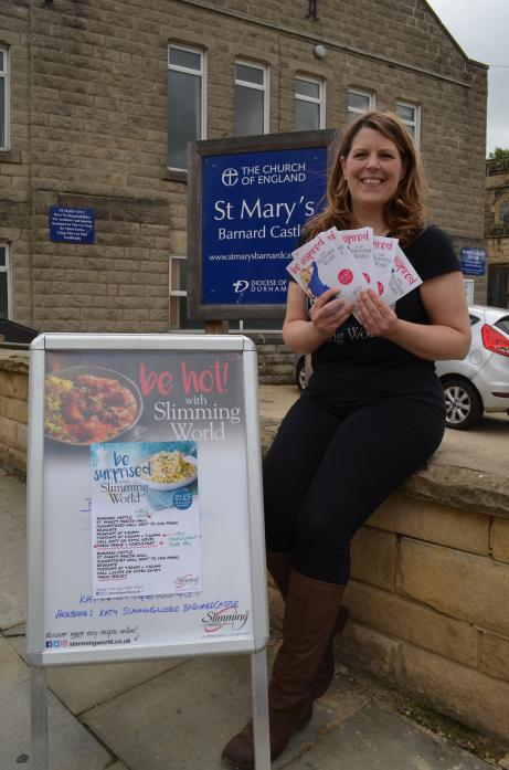 NEW CHALLENGE: Katy Davies has left Kyle Travel to concentrate on her work with Slimming World