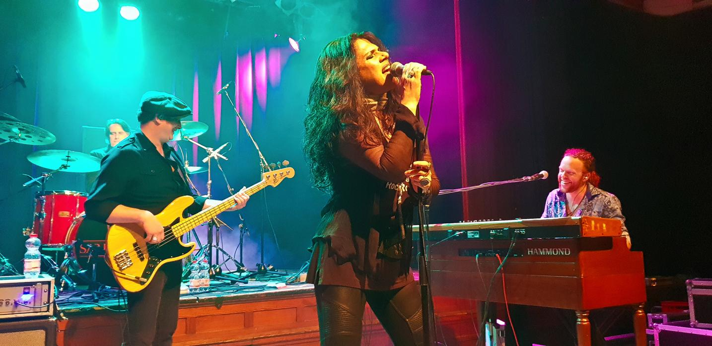 MICKLETON BOUND: Sari Schorr will play in the village as part of a UK tour