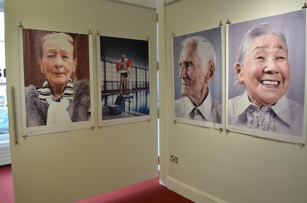 DISPELLING MYTHS: Some of the images on show at The Witham as part of the Age Does Not Define Us exhibition