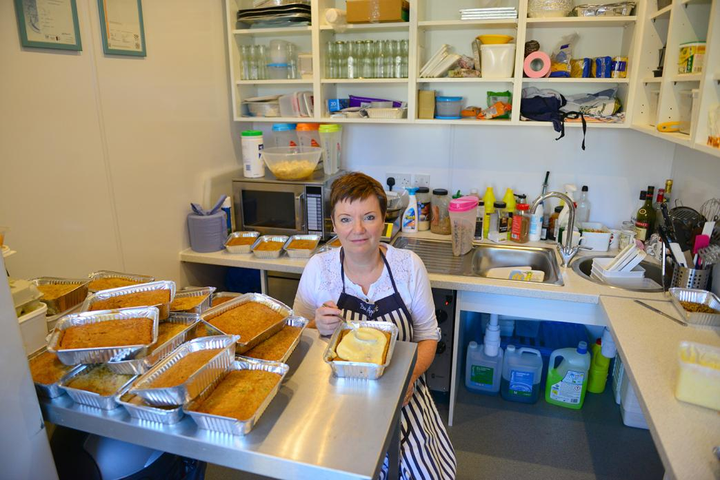 ICING A CAKE: Cath Muir, from Eppleby, is nothing short of an inspiration, says an MP