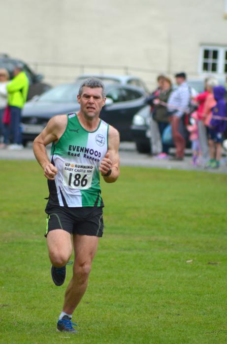 NATIONAL HONOUR: John Clifford, who helped the England men's team to over 45s title at the British and Irish Masters cross country event in Swansea at the weekend