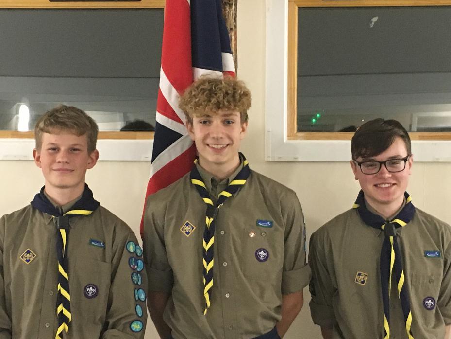Staindrop Explorer Scouts complete bronze Duke of Edinburgh