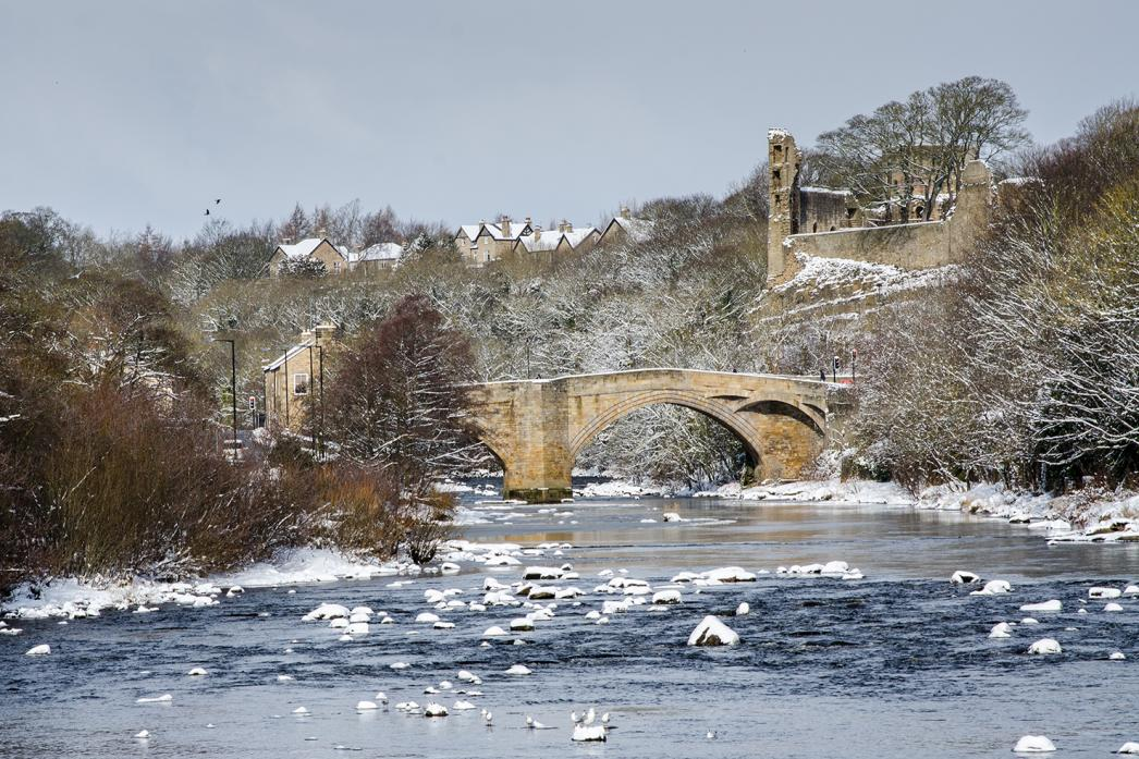 ON THE UP: The Tees at Barnard Castle