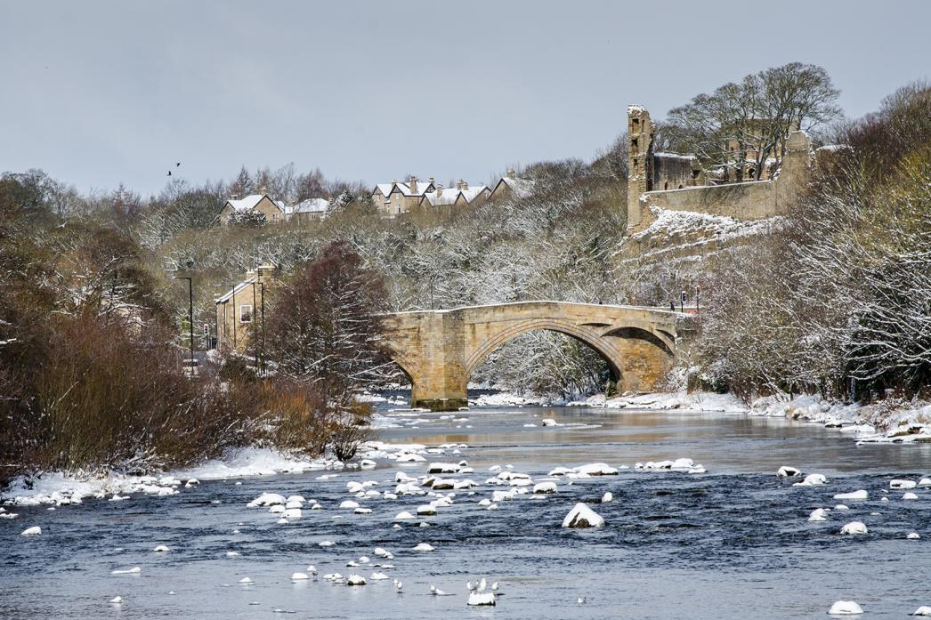 LONG WAY TO GO: The Tees at Barnard Castle