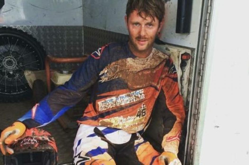 KEEN RIDER: Thomas Brown who died last year