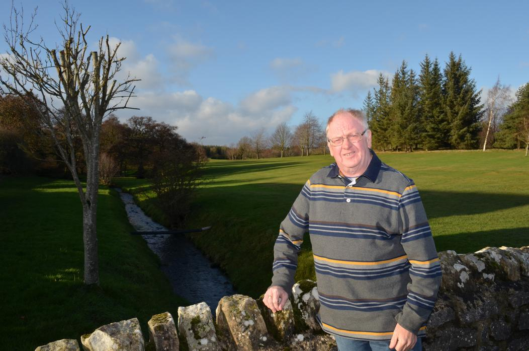 AT THE HELM: Ross Law has taken over as club captain at Barnard Castle Golf Club