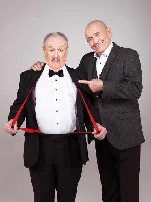STAR ATTRACTION: Cannon and Ball