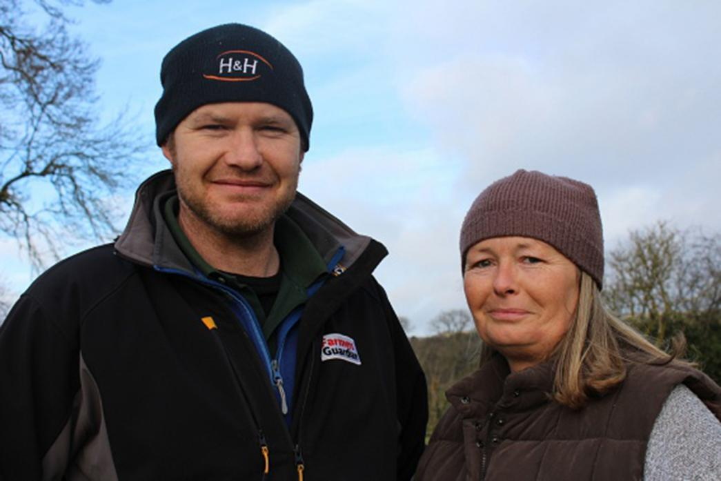 SHEEP BREEDERS: Ted and Debbie Benn feel at home in Teesdale