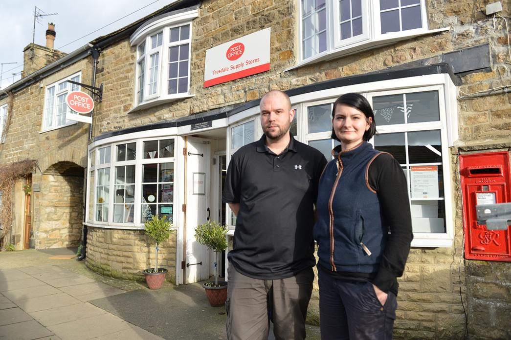IN THE RUNNING: Adam and Karolina Alston are regional finalists in the Countryside Alliance's Rural Oscars awards