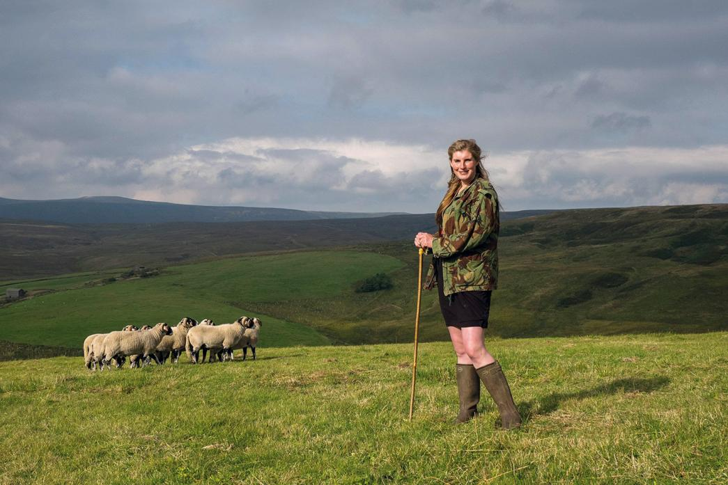 MAKE A DATE: Amanda Owen, the Yorkshire Shepherdess, will take to the stage at The Witham in July
