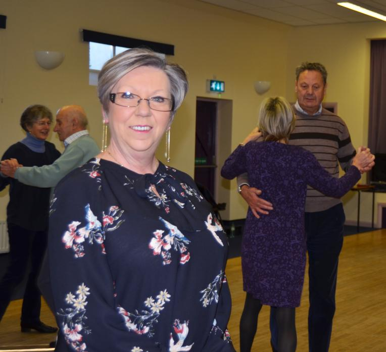 STEPPING OUT: Dianne White will be helping would-be dancers learn to cha-cha-cha.