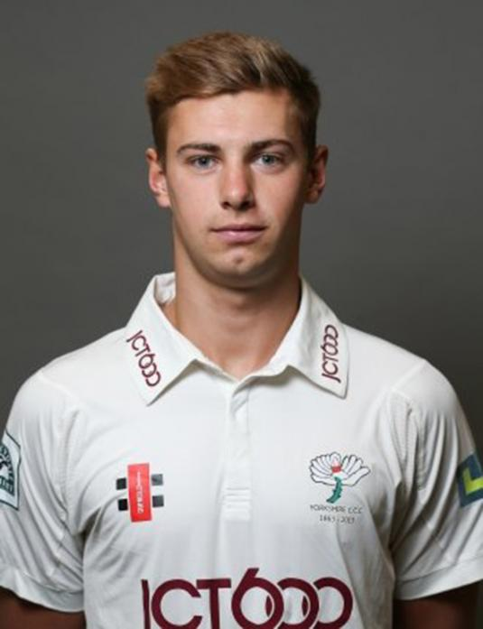 NEW SIGNING: James Wainman will join up with Barnard Castle CC