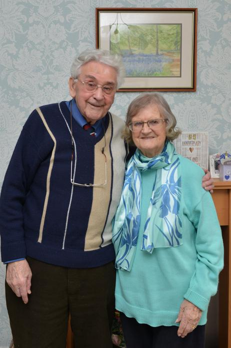 HAPPY: Alan and Jean Allsopp celebrated their 65th wedding anniversary in February