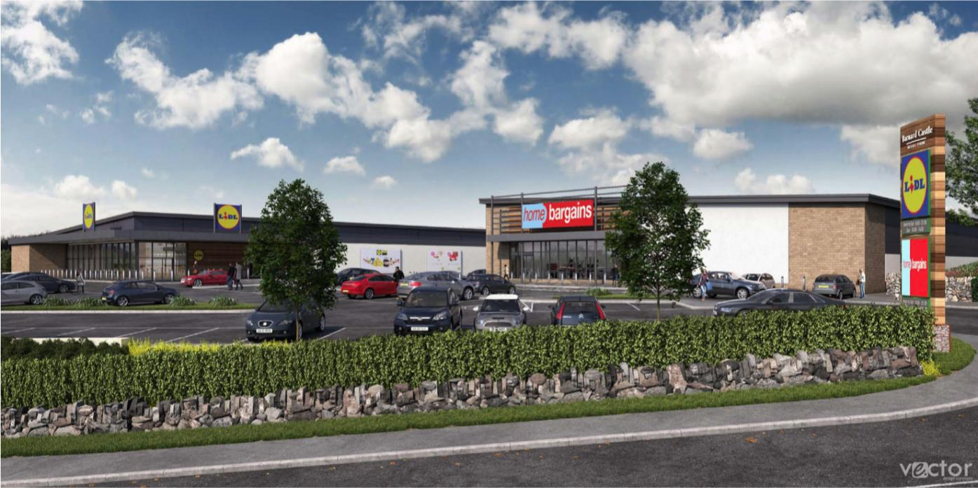 PLANS: Proposals have been lodged for a new Lidl store