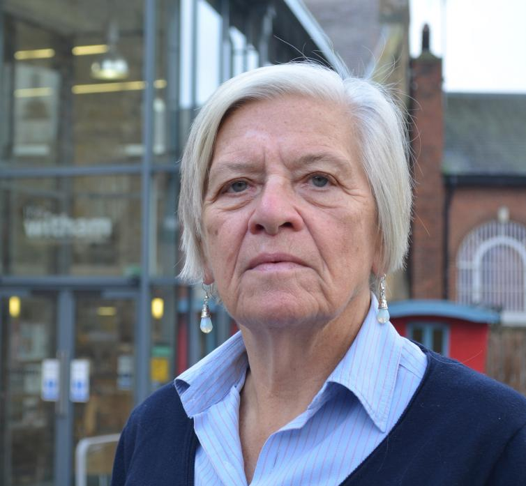 PLANS UNAFFECTED: Shelagh Avery, chairwoman of the trustees at The Witham