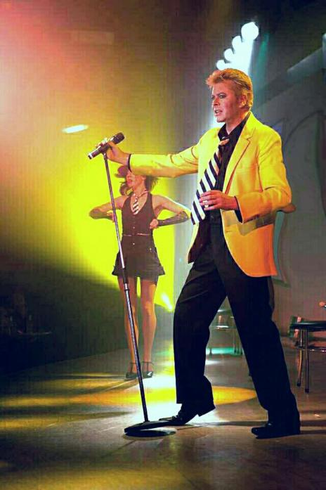 TRIBUTE: John Mainwaring and the Jean Genie band will perform classic Bowie hits at The WItham