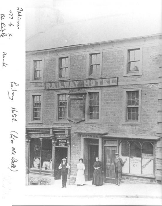 MAKING HISTORY: The Old Well Inn used to be called the Railway Hotel. The landlords hope to put up a blue plaque