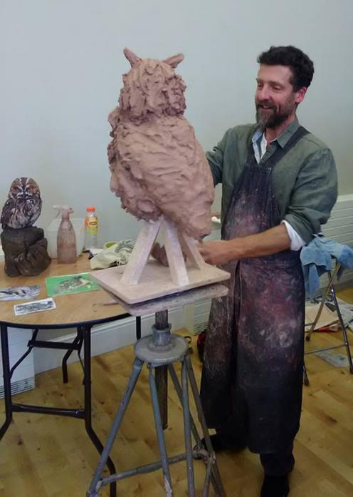ARTISAN: Simon Griffiths demonstrating his ceramic sculpture techniques