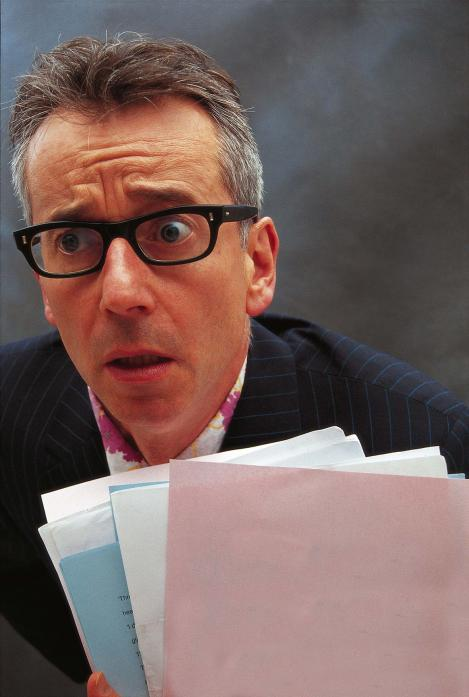 WORDSMITH: John Hegley will be performing shows at Bowes and Staindrop