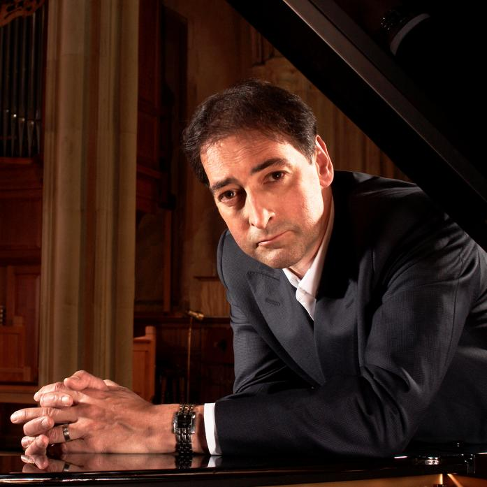 TINKLING THE IVORIES: Alistair McGowan is bringing his classical music show to Barney