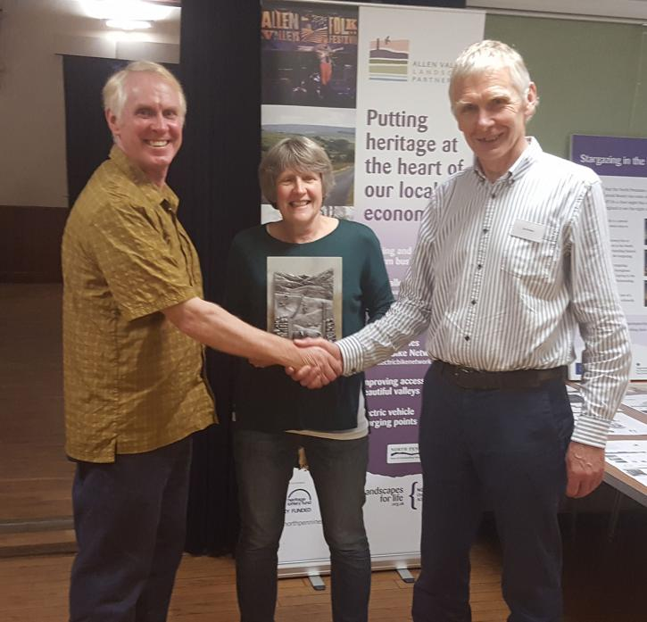 Chris and Heather McCarty, who worked at the Moor House Natural England National Nature Reserve, were the 2016 Pendlebury Award recipients. The search is now on for a worthy winner of the award in 2019.