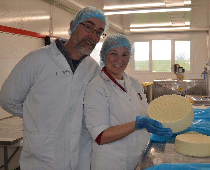 It's a case of onwards and upwards for Teesdale Cheesemakers as the company plans to host cheese making tours and open a cafe at its new premises