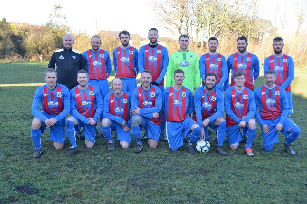 CHAMPIONS: The Toft Hill squad