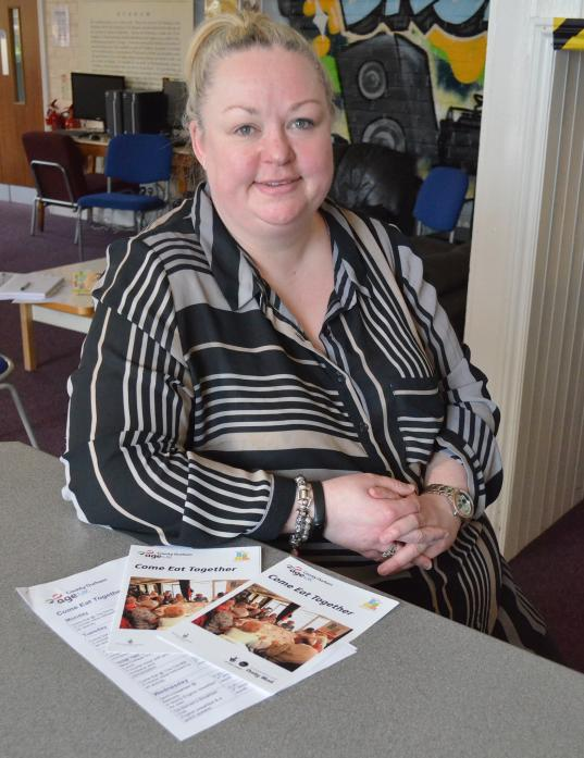 CLUBBING TOGETHER: Andrea Goldie, project worker with Age UK County Durham, who is helping to organise a monthly shopping club for older people in the upper dale