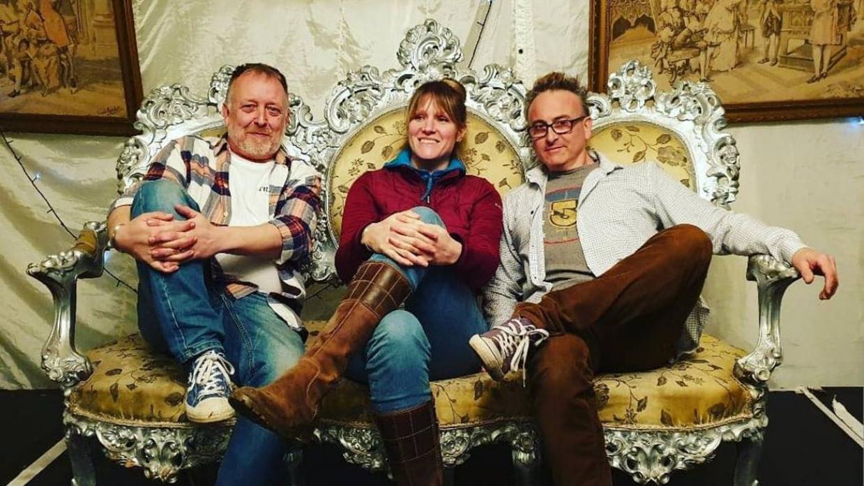 BOWES BOUND: Folk trio Banter will journey up from the south coast to play at the Bowes ceilidh