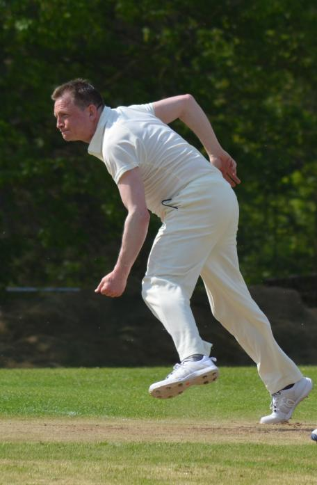TOP KNOCK: Cliffe's Andrew Glover hit 109 and shared a stand of 179 with Richard Mallender as Cliffe defeated Spennymoor