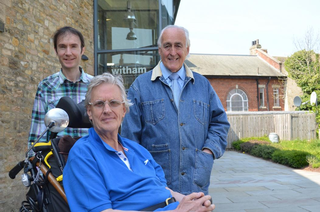 JOINT EFFORT: The work of Michael Horner, David Foster and Brian Lavery will go on show at The Witham during June