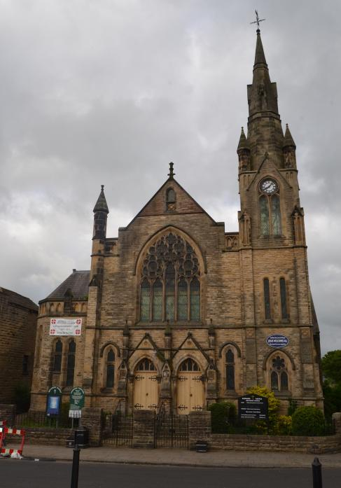 GRAND DESIGNS: Barnard Castle's Methodist chapel, in Horsemarket, which is celebrating its 125th anniversary