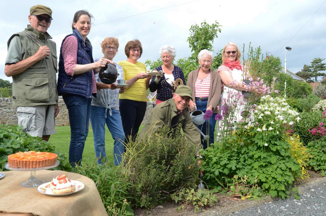 OPEN GARDENS: Residents from Whorlton are getting ready for their event on Sunday