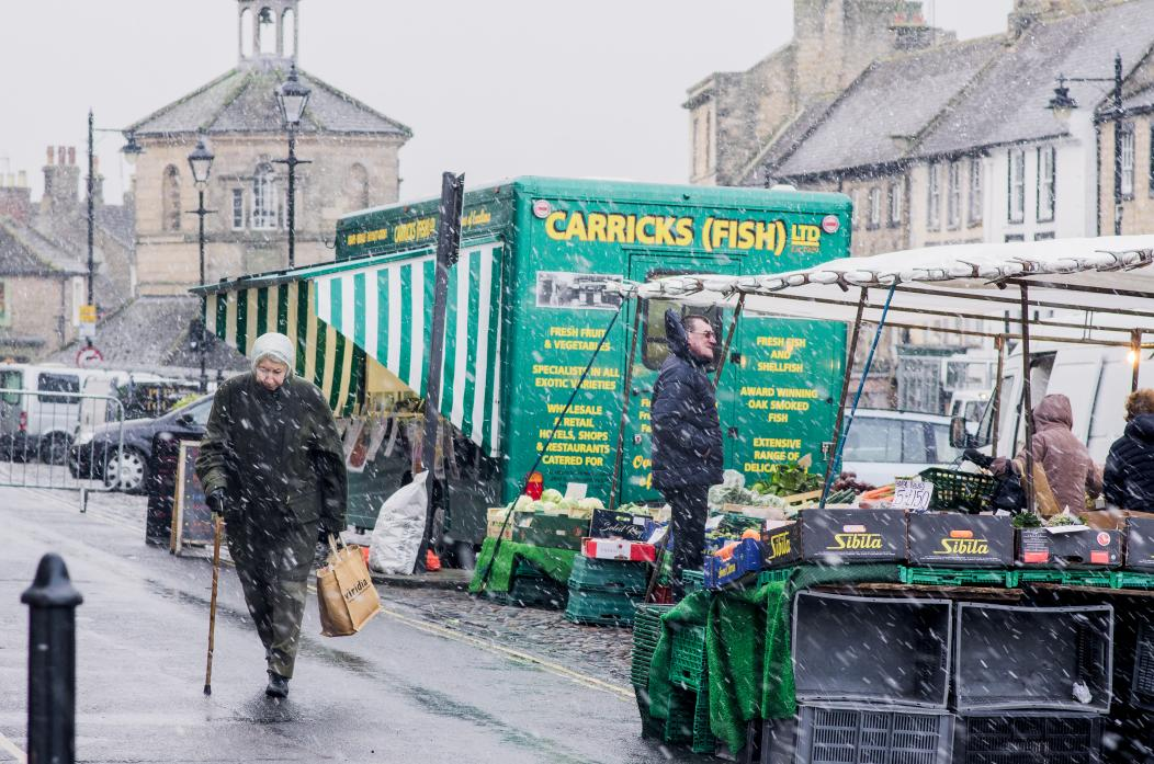 MID-WEEK EVENT: The town council is looking at ways of boosting Barnard Castle's historic charter market