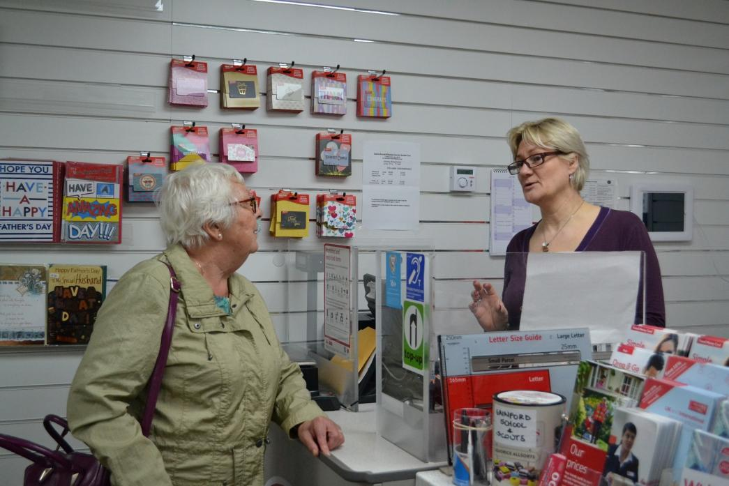 If trade doesn't pick up, the newly opened Gainford post