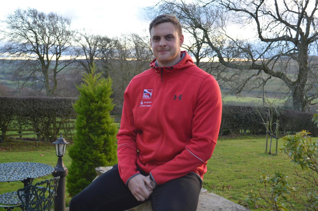 OLYMPIC DREAM: Alan Toward must raise thousands of pounds if he is to pursue his dream of competing at the 2022 Winter Olympics for the GB bobsleigh team after funding was withdrawn by UK Sport