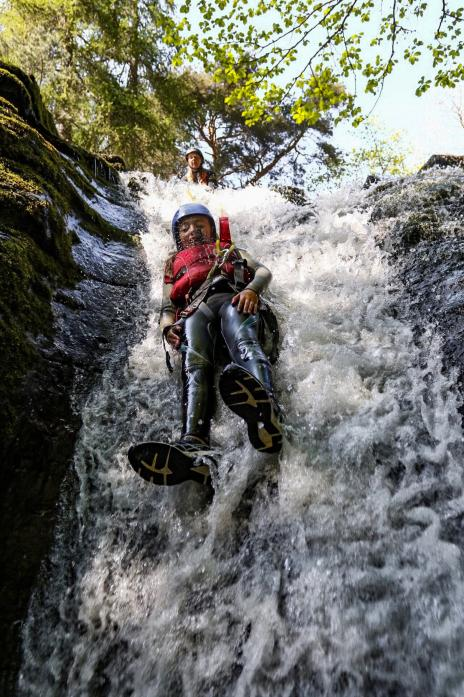 TAKE THE PLUNGE: Adventure in the upper dale awaits those who would like to have a taste of the outdoors this summer