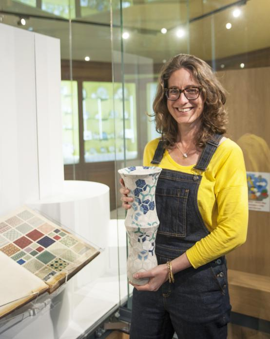 ON SHOW: Ceramicist Frances Priest's exhibition at The Bowes Museum opened last weekend