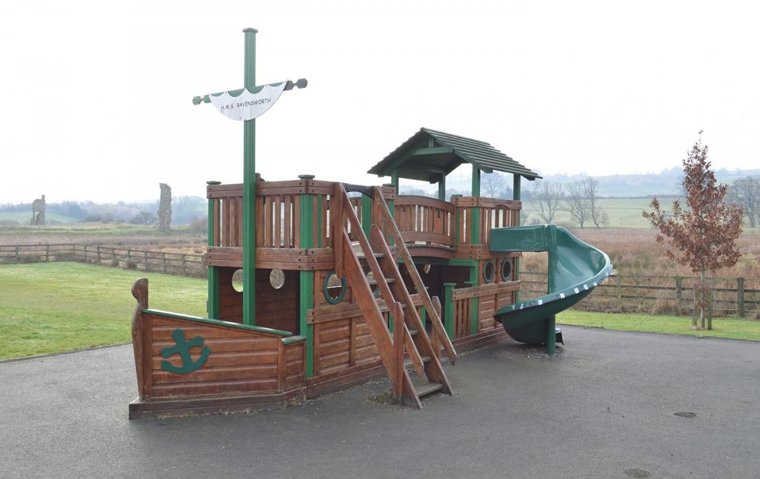 SUNK: The Friends of Ravensworth School must raise £10,000 to replace the playground ship and provide a new safety surface