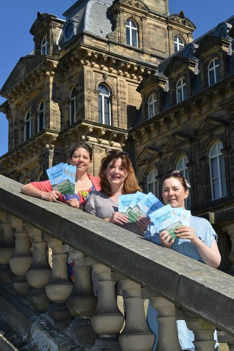 SUMMER FUN: Julia Dunn, of The Bowes Museum, Rachel Tweddle, of TCR Hub, and Sarah Gent, of The Witham, with the new Holiday Club brochure