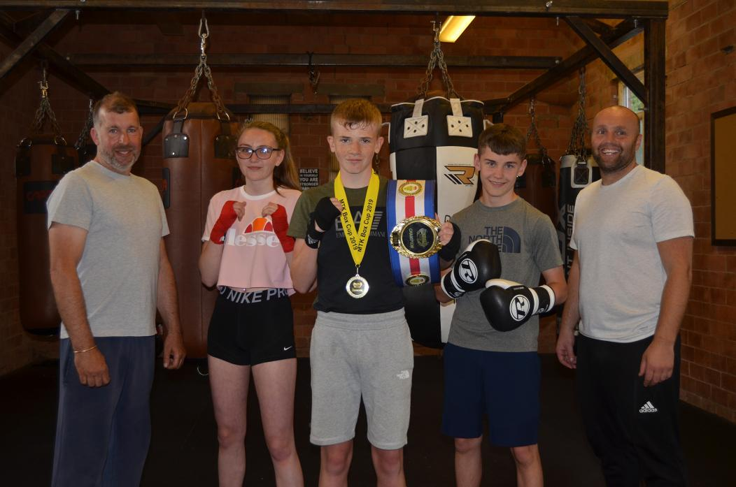 Boxing club boasts a host of title successes - Sport