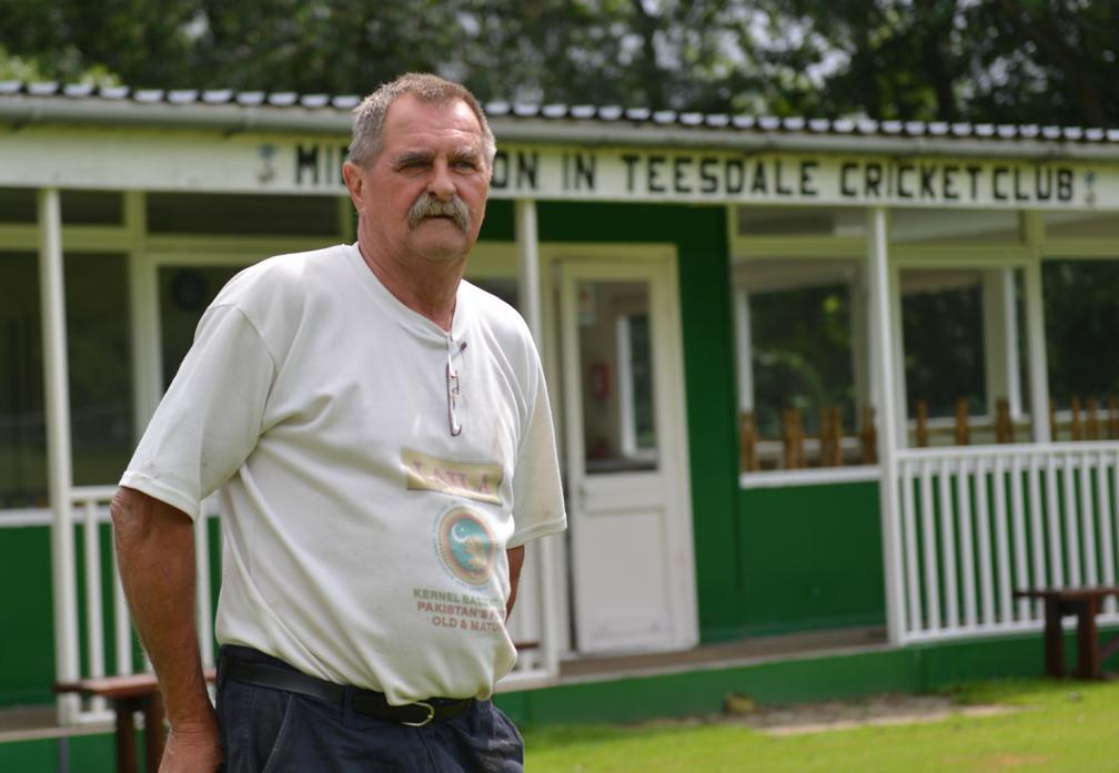 AMBITIOUS PLANS: Groundsman and secretary for Middleton-in-Teesdale Cricket Club Dave Garth says plans are in place to replace the club's ageing pavilion