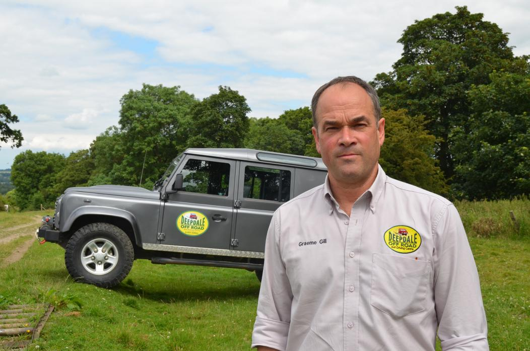 OFF ROAD: Farmer Graeme Gill's brave diversification decision is still paying off after 20 years