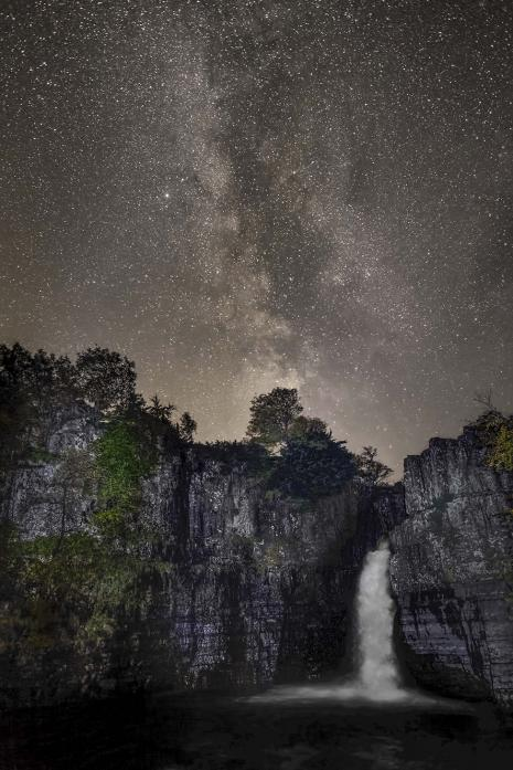 THE SKY AT NIGHT: Night time photography is among the activities of this year's North Pennines Stargazing Festival