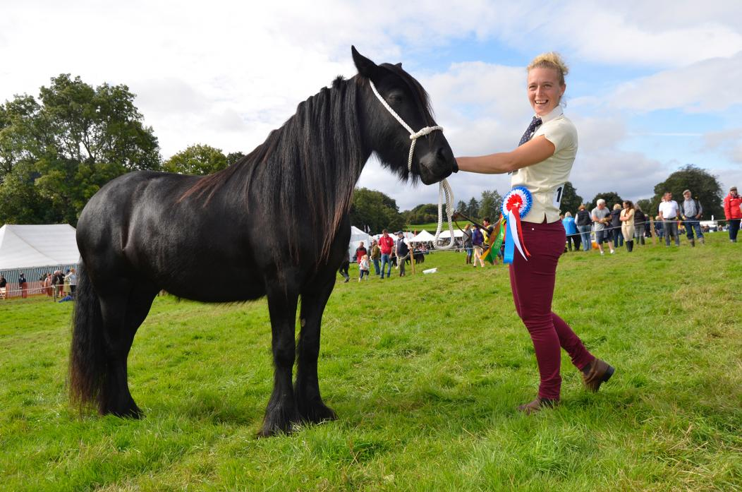 COUNTRY SHOW: Action from last year's Eggleston Agricultural Show, which has introduced new rules for equine entrants