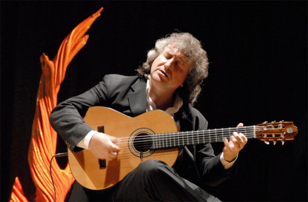 BACK TO BARNINGHAM: Eduardo Niebla will perform in the village hall for the first time in eight years