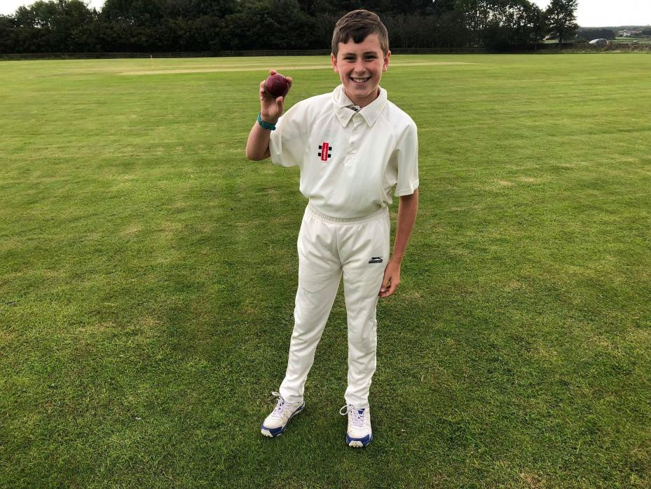 YOUNG TALENT: 12-year-old Blake Milroy took three wickets for just three runs in Lands' victory over Middleton St George