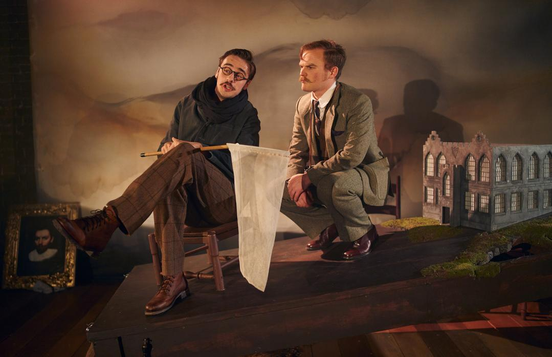 TWO WORDS: A four-strong cast will perform Northern Stage's new version of Arthur Conan Doyle's  The Hound of the Baskervilles                Topher McGrillis Photography